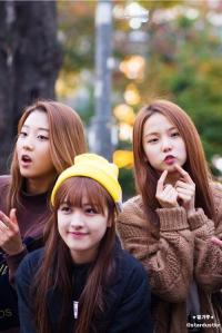 (left-right) seungyeon, seunghee, yoojin